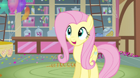 Fluttershy smiling S3E13