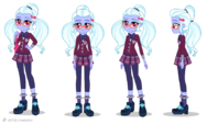 Friendship Games Sugarcoat turnaround art