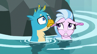 Gallus and Silverstream hear growling S8E22