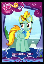 Lightning Dust Trading Card