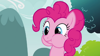 Pinkie Pie clone eating cheese S3E3