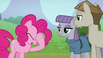 Pinkie Pie feeling embarrassed S8E3
