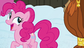 Pinkie quickly says goodbye to Rutherford S7E11.png