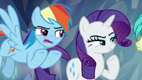 "Rainbow ""if you're going to join us"" S8E22"