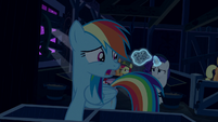 "Rainbow Dash ""did we lose them?"" S6E15"
