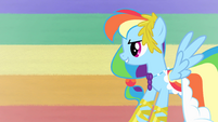 Rainbow Dash To Prove S1E26