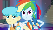 Rainbow Dash glowing EG3