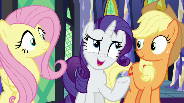 """File:Rarity """"the Ponyville spa's still open"""" S7E2.png"""