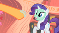Rarity looking at hoof covered in spit S1E08.png