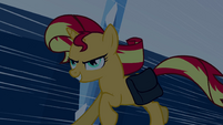 Sunset Shimmer galloping EG