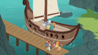 The Mighty Helm setting sail S7E16