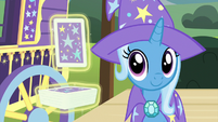Trixie cutely shaking her head S7E24