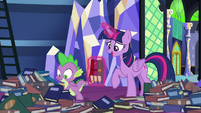 "Twilight ""nice that you have somepony"" S8E24"