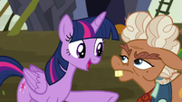 """Twilight """"once we have all the facts"""" S5E23"""