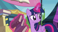Twilight -sit up there all alone doing nothing- S4E22