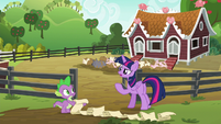 Twilight Sparkle already confused S6E10