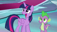 Twilight Sparkle gasping with delight S8E7