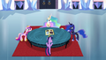Twilight and princesses around a table S4E25.png