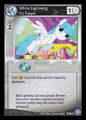 White Lightning, Flip Flapper card MLP CCG.jpg