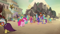 A. K. Yearling leaves Somnambula in shame S7E18
