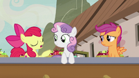 "Apple Bloom ""she's just been orderin' a lot of apples"" S7E8"
