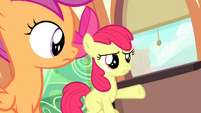 Apple Bloom -don't you listen to her music-- S4E19