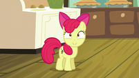 Apple Bloom excited over her cutie mark S5E04