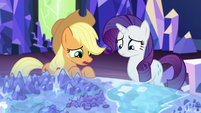 Applejack -hope Apple Bloom and Sweetie Belle aren't too upset- S5E16