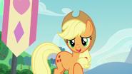 Applejack describing Coloratura's cutie mark S5E24
