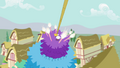 Bird lands on top of the pinata S4E12.png