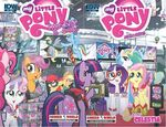 FANMADE mlp combined cover New York Comic Con 2013