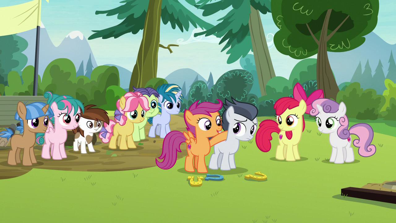 El Campamento Cutie Mark | My Little Pony: La Magia de la Amistad ...