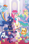 My Little Pony IDW 20-20 cover RI textless