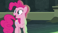"Pinkie Pie ""we need to make a leap of faith"" S7E18"