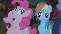 Pinkie Pie 'Learn to stand up tall, face your fears' S1E02