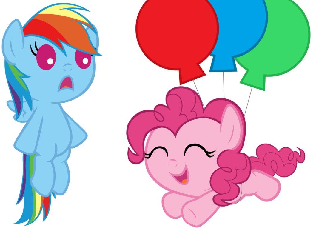 Imagen  Pinkie volando bebepng  My Little Pony La Magia de la