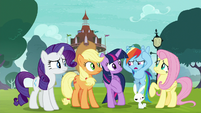 "Rainbow ""is it supposed to sound like that?"" S8E18"