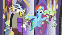"Rainbow ""with Discord on this one"" S9E17"