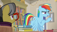 "Rainbow Dash ""is really Dr. Caballeron"" S9E21"