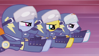 Rainbow Dash and Wonderbolts fly into battle S5E25