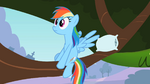 Rainbow Dash realizes reality S2E7