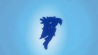 Rainbow Dash transformation silhouette EG