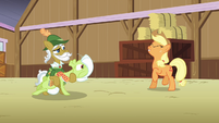 "Raise This Barn - Applejack ""yee-haw!"" S3E8"