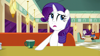 Rarity --...far too loud-- S6E9