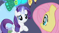 Rarity being late S1E20