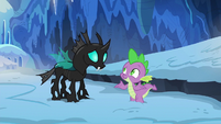 """Spike """"hasn't anypony ever just been nice"""" S6E16"""