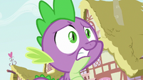 Spike shocked by Smolder's statement S8E24