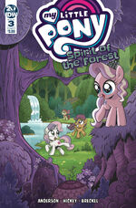 Spirit of the Forest issue 3 cover A