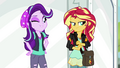 Starlight Glimmer winking at Sunset Shimmer EGS3.png