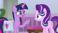 Twilight -anything goes wrong, get Celestia- S8E25